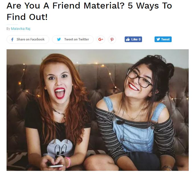 Are You A Friend Material? 5 Ways To Find Out!